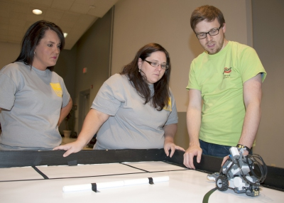 Robotics academy trains state's robotics instructors